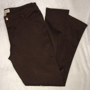 Michael Kors Ladies 10 brown pants